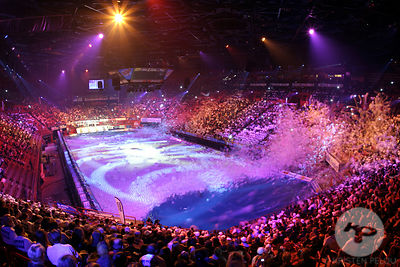 Windsurf indoor, Paris-Bercy, France