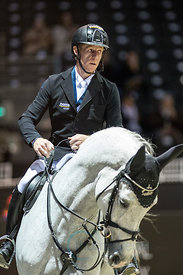 Bordeaux, France, 2.2.2018, Sport, Reitsport, Mercedes-Benz CSI Zurich - Prix FOIRE INTERNATIONALE DE BORDEAUX. Bild zeigt Marcus EHNING (GER) riding Cornado NRW...2/02/18, Bordeaux, France, Sport, Equestrian sport Mercedes-Benz CSI Zurich - LPrix FOIRE INTERNATIONALE DE BORDEAUX. Image shows Marcus EHNING (GER) riding Cornado NRW.