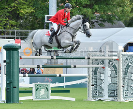 Niklaus RUTSCHI and Clearwater  - FEI Nations Cup, Dublin Horse Show 2017
