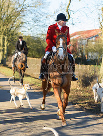 Andrew Osborne leaving the meet in Owston