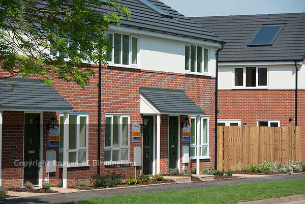 Housing in North Solihull.