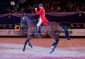 Oliver Hood riding Act Flyn Lad - TopSpec Heavyweight Show Hunter of the Year - HOYS 2011