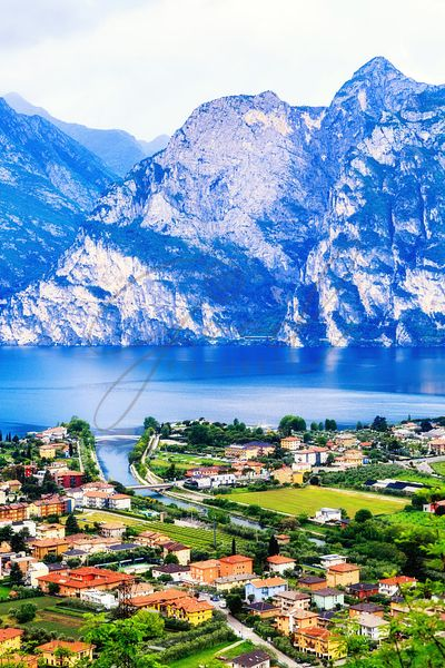Riva Del Garda - Northern Italy - Vertical