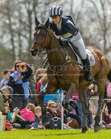 Caroline Powell and BOSTON TWO TIP - Cross Country - Mitsubishi Motors Badminton Horse Trials 2013.
