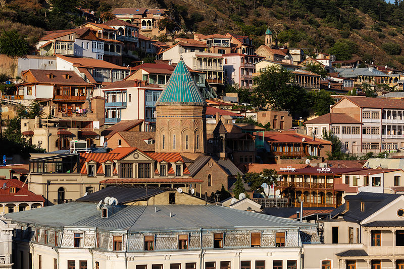 A View of the Old Town of Tbilisi