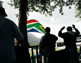 Flag, Cape Town, South Africa