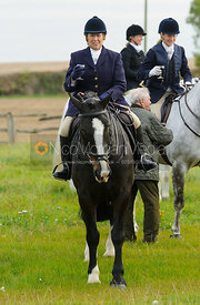 Jenny Dale at the meet - The Cottesmore Hunt at Toft 27/10