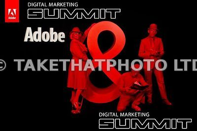 Adobe Digital Marketing Summit London photographs