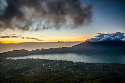 Mt. Batur Calder at Sunrise