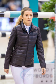 Bordeaux, France, 3.2.2018, Sport, Reitsport, Jumping International de Bordeaux - LONGINES FEI WORLD CUP™ JUMPING. Bild zeigt Edwina Tops Alexander...3/02/18, Bordeaux, France, Sport, Equestrian sport Jumping International de Bordeaux - LONGINES FEI WORLD CUP™ JUMPING. Image shows Edwina Tops Alexander.