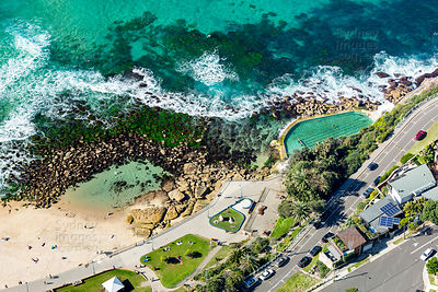 Bronte Baths and The Bogey Hole