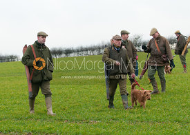 The Saltby Farms game shoot, December 2011.