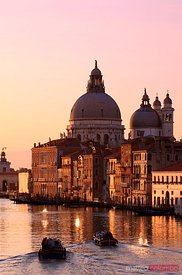 Sunrise over the Grand Canal, Venice