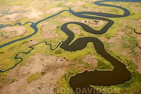 Aerial Maryland Eastern Shore Blackwater