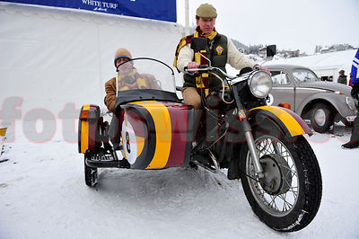 Cresta Run 125 Anniversary Oldtimers on Lake St.Moritz photos