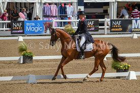 CIC 3* winner Tina Cook with Billy the Red