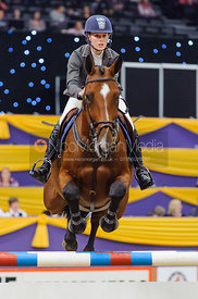 Yazmin Pinchen and Ashkari, Horse of the Year Show 2010