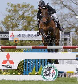 Wendy Schaeffer and KOYUNA SUN DANCER - Show Jumping phase, Mitsubishi Motors Badminton Horse Trials 2014