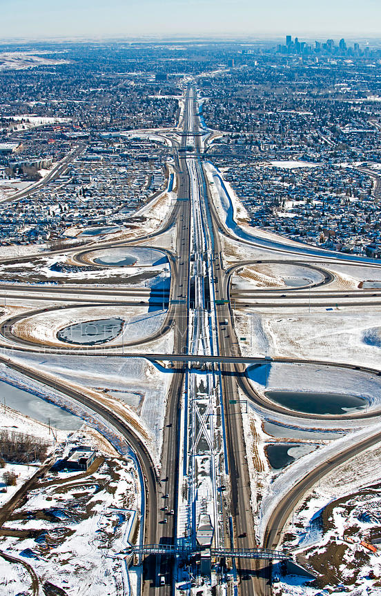 Crowchild at Stoney Trail Interchange, Calgary AB