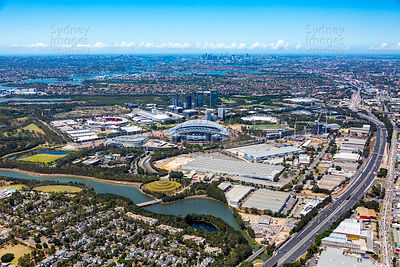 Sydney Olympic Park to Sydney City