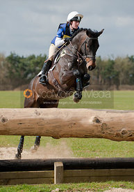Chloe Newton and Trebarwith, Oasby Horse Trials 2011