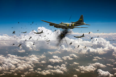 WWII bombers pictures