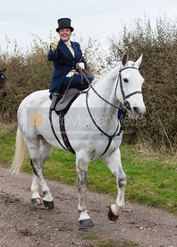 Philippa Wells - Quorn Hunt Opening Meet, The Kennels 26/10
