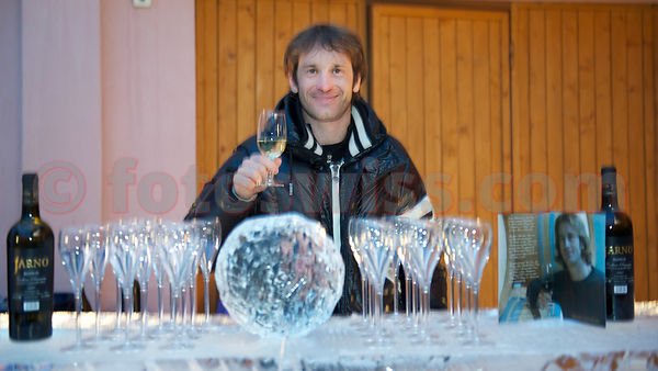 Jarno Trulli Wine Tasting Event at Hotel Margun in Sils-Maria