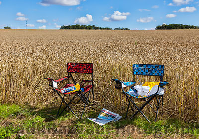 The Chairs of Spectators of Le Tour de France
