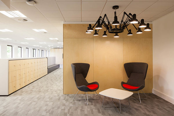 Worldpay Office fit out by Overbury, Gateshead