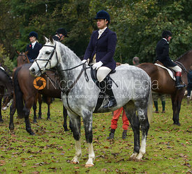Jane Barnes - The Cottesmore Hunt meet in Somerby 6/11
