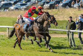 LOVE MANHATTAN (Tom Chatfeild-Roberts) - Race 2 Members Race - The Belvoir Point-to-point 2017