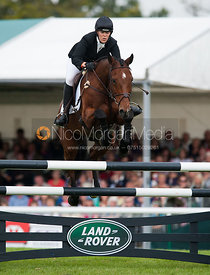 Anna Warnecke and Twinkle Bee - show jumping phase,  Land Rover Burghley Horse Trials, 2nd September 2012.