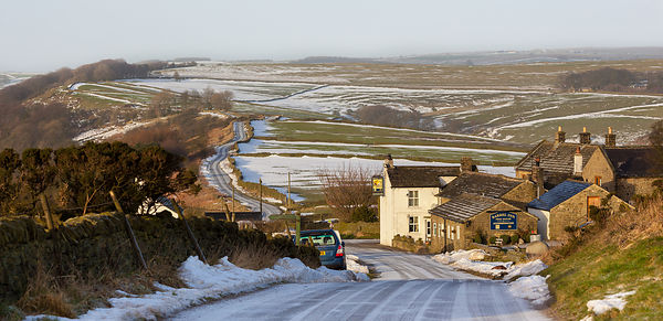 Winter at the Barrel Inn Bretton