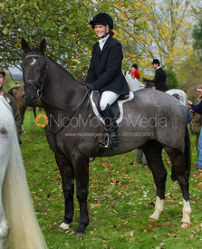 Charlotte Agnew - The Quorn Hunt at John O' Gaunt 9/11/12