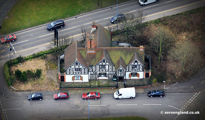 aerial photograph of Stratford House Birmingham England UK