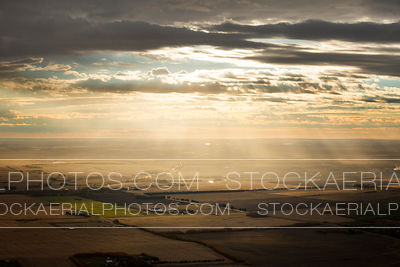 Sunrise over the Prairies