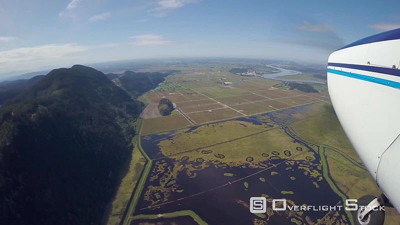 Farming North of Pitt Meadows.