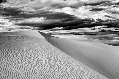 Late afternoon at White Sands National Monument, New Mexico