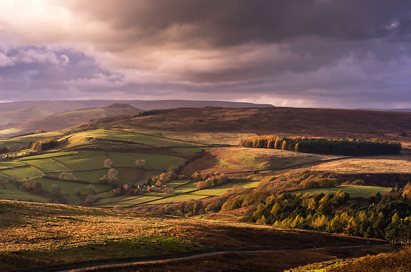 Mid Autumn Peak District light