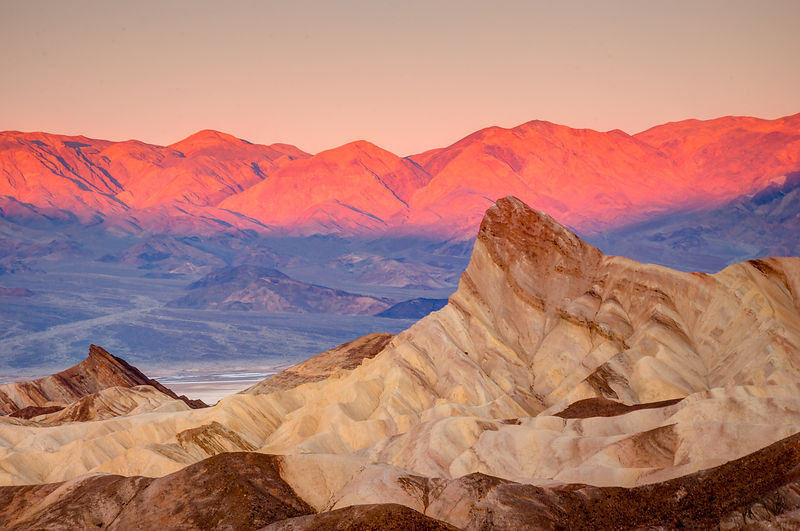 Zabriskie Point.  Death Valley National Park, California