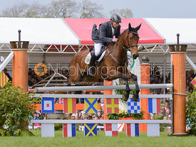 Andrew Heffernan and MILLTHYME COROLLA - Show Jumping phase, Mitsubishi Motors Badminton Horse Trials 2014