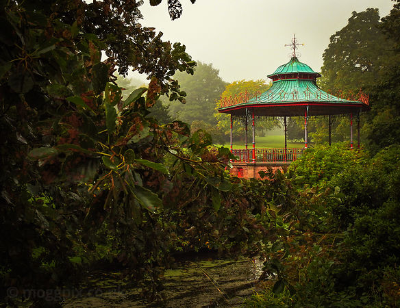A Bandstand of Many Colours
