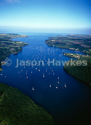 River Helford, Falmouth,Cornwall, England