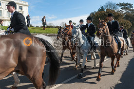 The South Notts Hunt at Colston Bassett Hall 15th March 2013