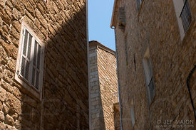 Alleys of Corsican old city