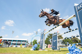 Pedro JUNQUEIRA MUYLAERT riding Prince Royal Z Mfs, wins the Grand Prix Longines - Ville de La Baule, La Baule , France