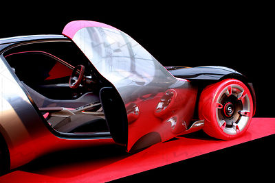 OPEL Experimental GT Concept Car Art Photographs