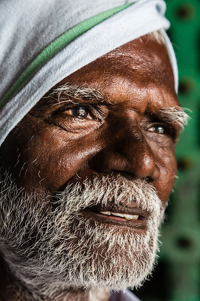 Portrait of a Hindu Pilgrim