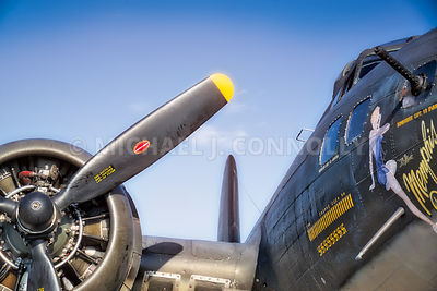 Memphis Belle- Prop & Nose Art